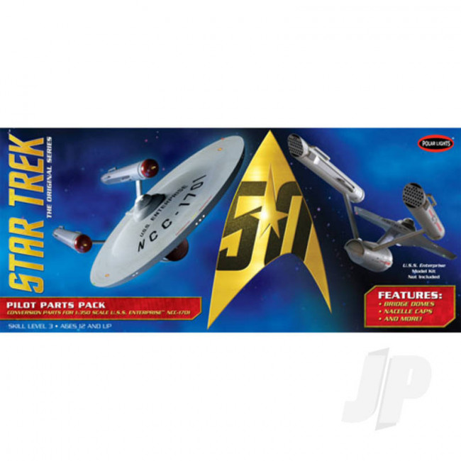 Polar Lights 1:350 Star Trek TOS U.S.S. Enterprise Pilot Parts Pack For Plastic Kits