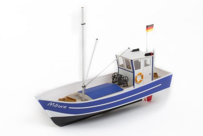 Mowe 2 North Sea Fishing Boat Cutter - 1:25 Scale Aero-Naut Wooden Kit