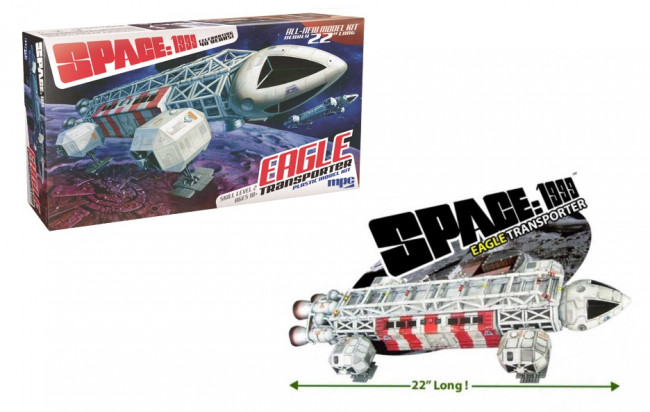 "Space: 1999 Eagle Transporter All New 22"" Large Scale MPC Plastic Kit MPC825"