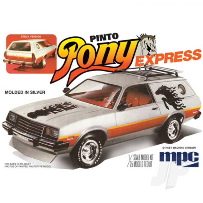 MPC 1:25 1979 Ford Pinto Wagon Pony Express Car Plastic Kit
