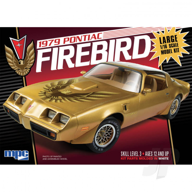 MPC 1:16 1979 Pontiac Firebird Car Plastic Kit