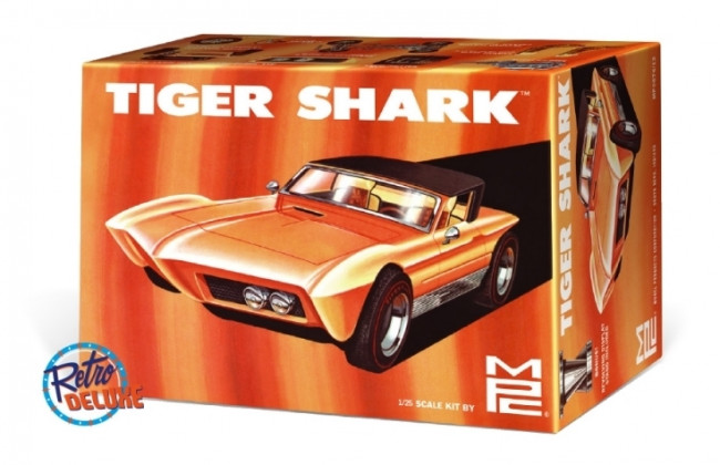 Tiger Shark Custom Show Rod 1:25 Scale MPC Highly Detailed Plastic Car Kit