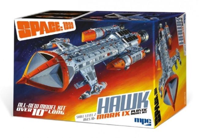 Space:1999 Hawk Mk.IX Starship 1:72 Scale MPC Plastic Model Kit - New!!