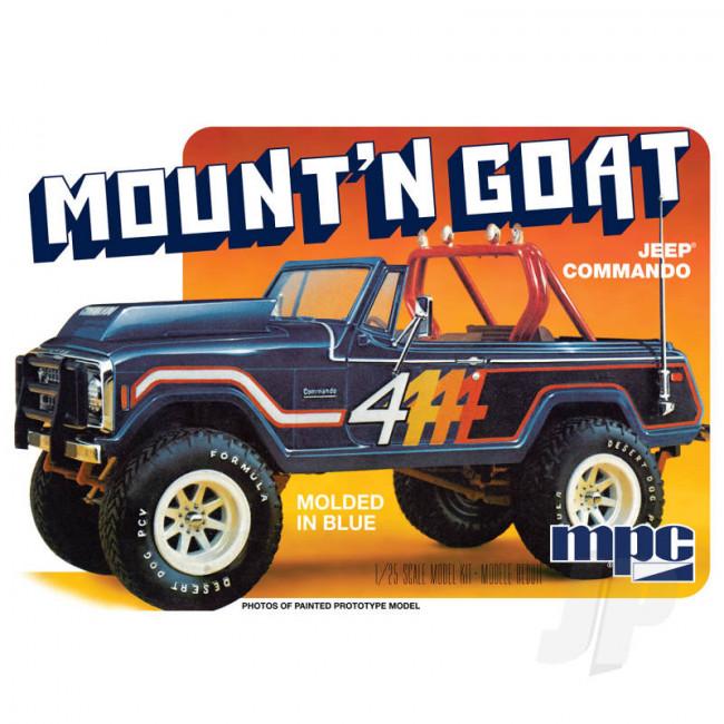 MPC 1:25 Jeep Commando Mount 'N Goat Car Plastic Kit