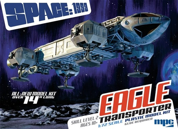 "MPC 1:72 Space 1999: 14"" Eagle Transporter Sci-Fi Plastic Model Kit"