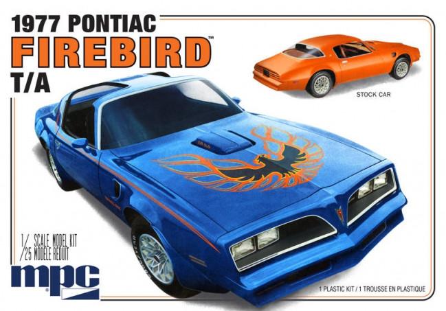 1977 Pontiac Firebird T/A 1:25 Scale MPC Detailed Plastic Car Kit