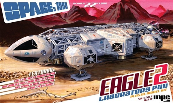 MPC 1:48 Space 1999 Eagle II with Lab Pod Plastic Kit Sci-Fi Model
