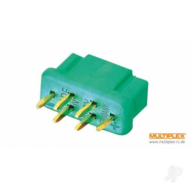 Multiplex MPX M6-50 High-current Plug, Female (100 pcs)