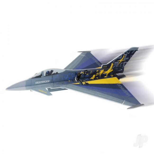 Multiplex Eurofighter Typhoon -RC Profile EPP Indoor Jet Model Plane Shock Flyer