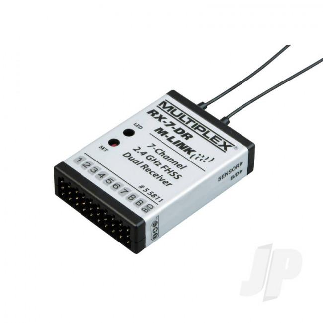 Multiplex Receiver RX-7-Dr M-LINK 2.4GHz 55811