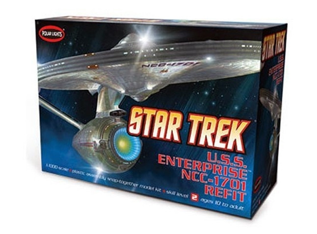 Star Trek USS Enterprise NCC-1701 Refit 1:1000 Scale Polar Lights Kit