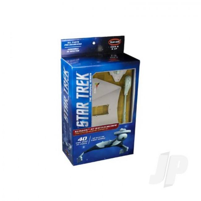 Polar Lights 1:1000 Star Trek TOS Klingon D7 Window Box (Pre-decorated) (Snap Kit) Plastic Kit