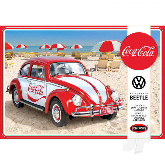 Polar Lights 1:25 Volkswagen Beetle Snap (Coca-Cola) 2T Car Plastic Kit