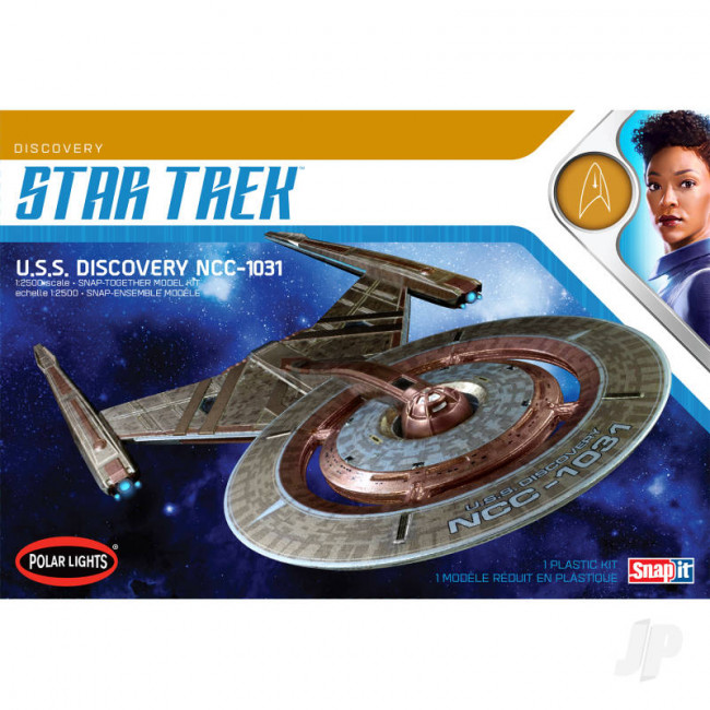 Star Trek U.S.S. Discovery NCC-1031 Polar Lights 1:2500 Scale Plastic Kit