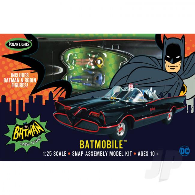 Polar Lights 1:25 1966 Batman Batmobile (Snap) Car Plastic Kit