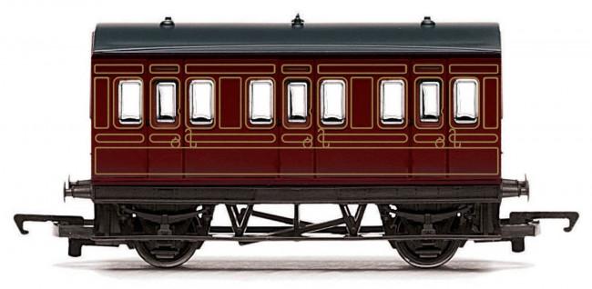 LMS 4 Wheel Coach 00 Gauge RailRoad Hornby Train R4671