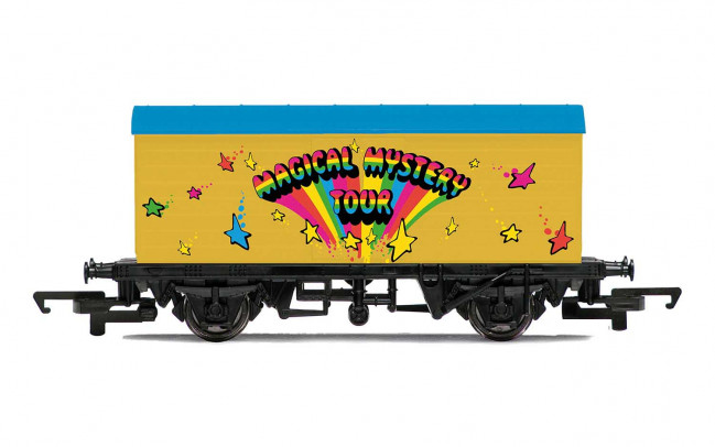 The Beatles 'Magical Mystery Tour' - Hornby 00 Gauge Model Train Wagon