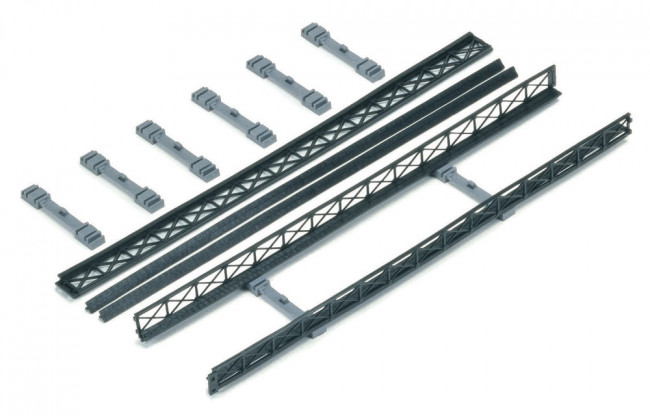 Hornby Accessories - R660 Trackside Wall Set