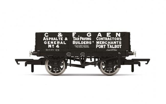 4 Plank Wagon, 'C&F Gaen' No. 4 - Era 2 - Hornby 00 Gauge