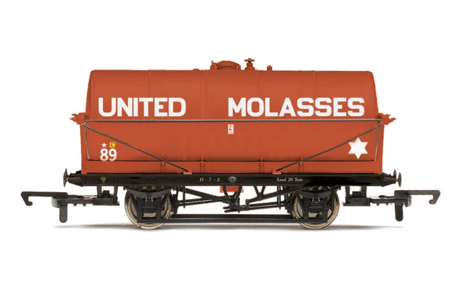 United Molasses, 20T Tank wagon, No. 89 - Era 3/4 - Hornby 00 Gauge