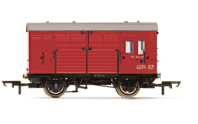 BR, N13 Horse Box, W665 - Era 4 - Hornby 00 Gauge