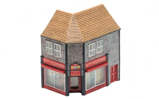The Toy Shop Scott's Toy Emporium - Hornby Trains Skaledale Buildings 00 Gauge