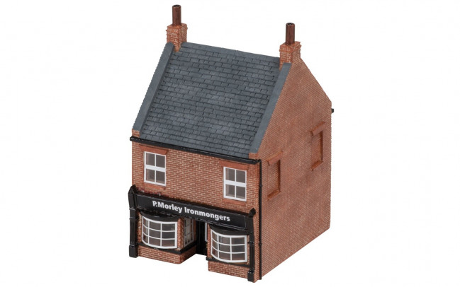 The Ironmonger's Shop  - Hornby Trains Skaledale Buildings 00 Gauge