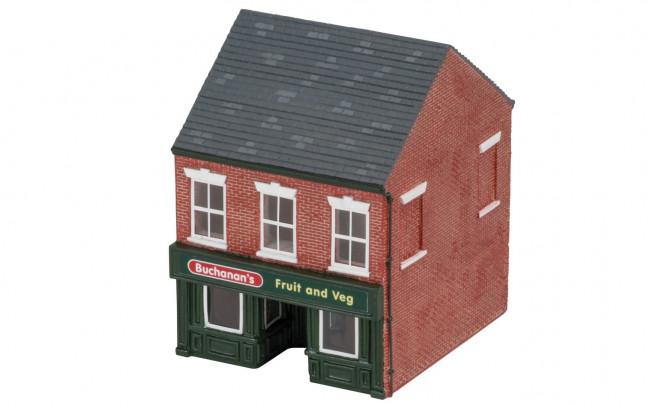 The Greengrocer's Shop  - Hornby Trains Skaledale Buildings 00 Gauge