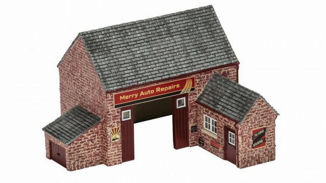 The Village Country Garage R9855 - Hornby Skaledale Buildings 00 Gauge