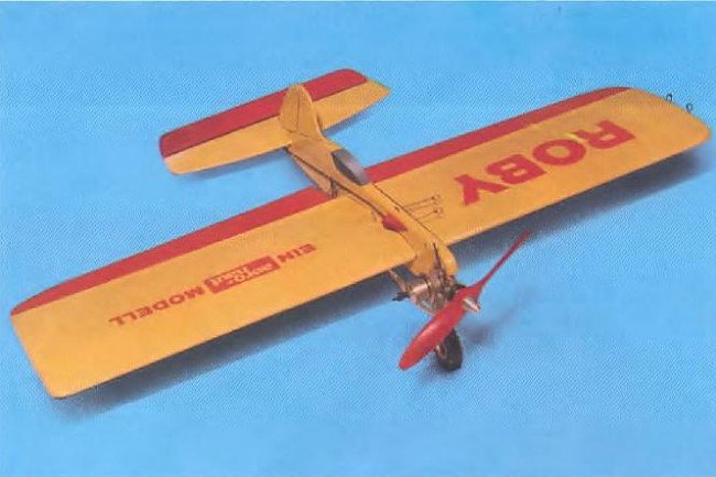 Roby Control Line Balsa Kit from Aero-Naut, Wingspan 628mm