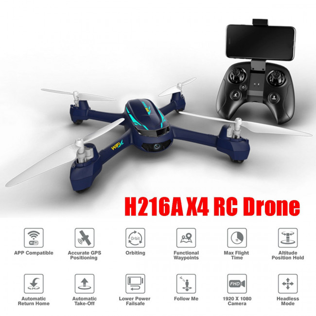 Hubsan X4 Desire Pro Drone GPS, 1080P Camera, RTH, Follow, Waypoints, Failsafe
