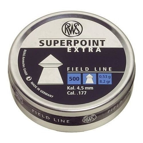 RWS Superpoint Extra .177 (4.5mm) Qty 500 Pointed Pellets for Air Gun / Rifle / Pistol