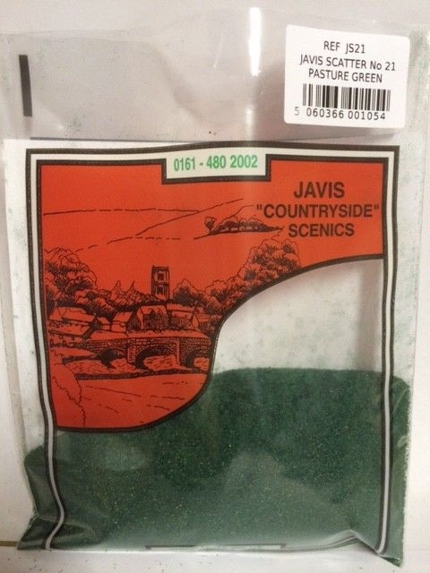 Javis Scenic Scatter - Pasture Green #21 - (40gms)