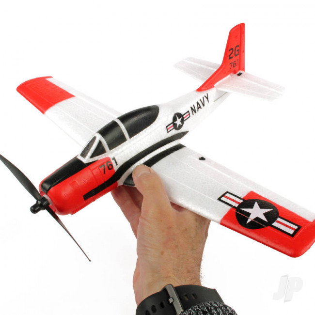 Sonik T-28 Trojan 400 RTF RC Warbird Model Aeroplane with Gyro Stabilisation