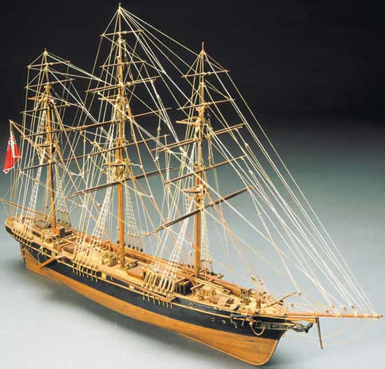 Mantua Thermopylae Tea Clipper Wooden Ship Kit (791) Scale 1:124