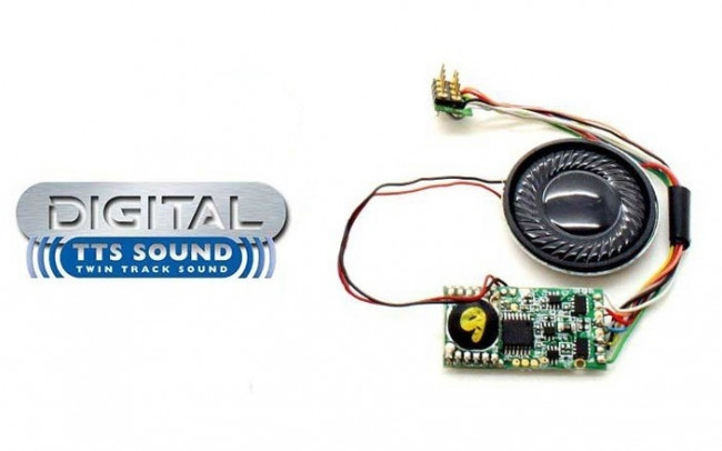 R8119 TTS Digital Sound Decoder: Class 40 - Hornby DCC Train Accessory
