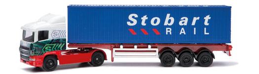 Corgi Super Haulers TY86650 1:64 Scale Eddie Stobart Skeletal Container Diecast Truck