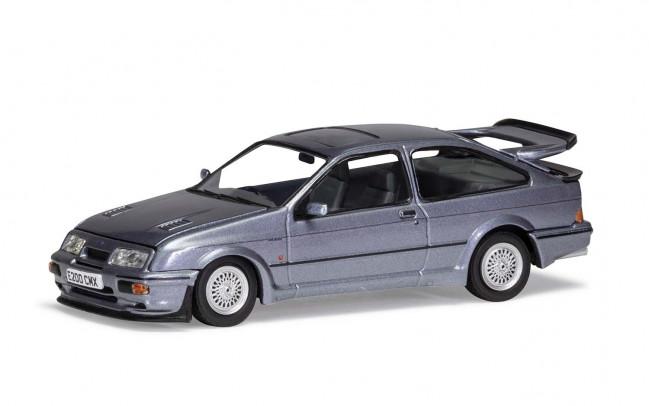 Ford Sierra RS500 Cosworth, Moonstone Blue - Limited Edition Corgi 1:43 Diecast Car