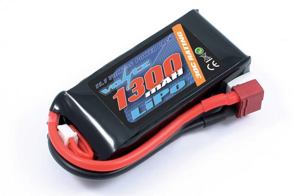 Voltz 1300mAh 3S 11.1v 30C LiPo Battery