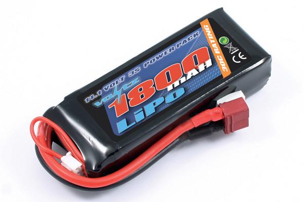 Voltz 1800mAh 3S 11.1v 30C LiPo Battery