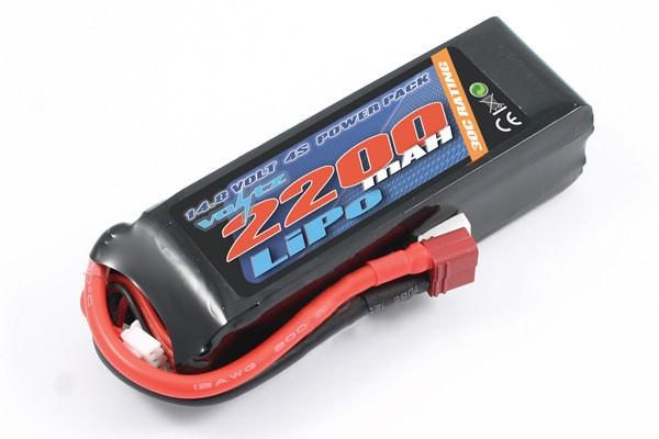 Voltz 2200mAh 4S 14.8v 30C LiPo Battery