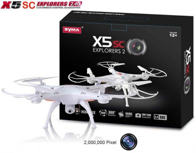New Syma X5SC Explorers 2 Quadcopter with HD Camera