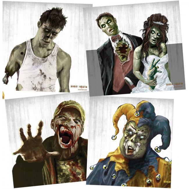 Crosman Zombie Shooting Targets (Pack of 20)