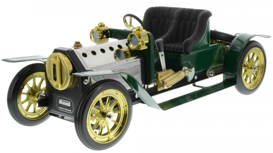 1319bt Brooklands Tourer Working Live Steam Model Car Ready Built