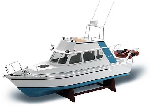 Krick Lisa M Motor Yacht 1 25 Scale Radio Control Model