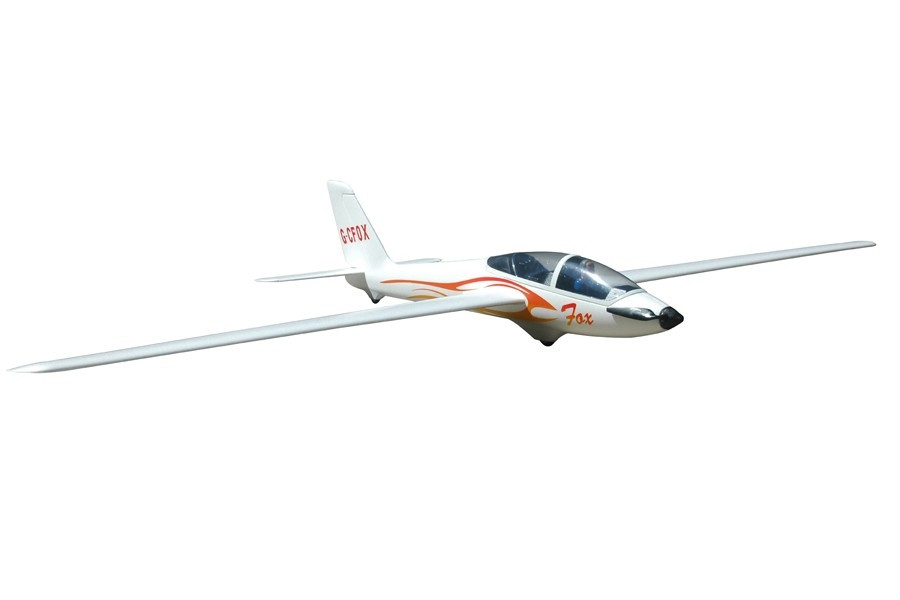 fms fox v2 unlimited aerobatic electric glider 2 3m wing