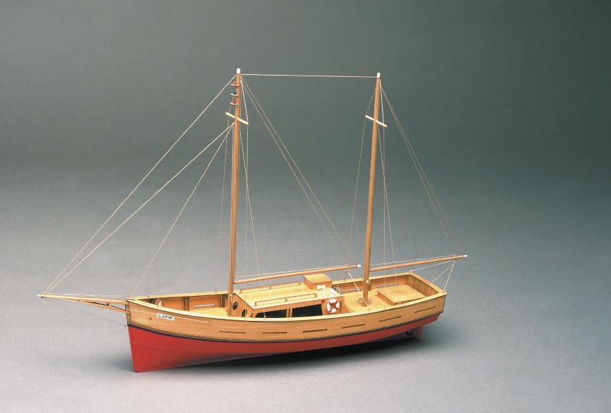 Mantua Capri Model Yacht 1 35 Scale Wood Ship Kit