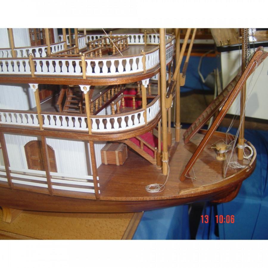 Mississippi Paddle Steamer River Boat 1 50 Large Scale