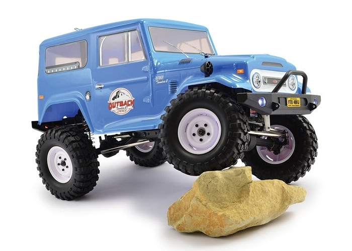 2 Tundra 4X4 Trail RTR 1:10 RC Truck Toyota Land Cruiser Style ... on