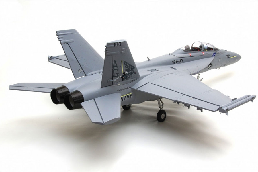 F/A-18F Super Hornet 70mm EDF Jet, Retracts ARTF no Tx/Rx/Bat